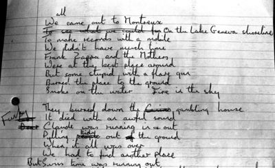 Ian Gillans original lyrics